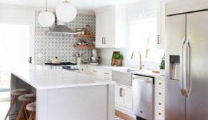 Silestone'dan batı yakası zarafeti: Coco&Kelley Kitchen