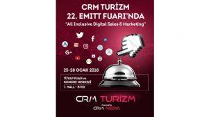 CRM Medya EMITT Fuarı'nda