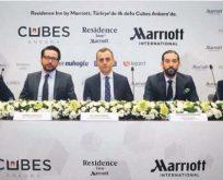 Cubes Ankara'nın otelini Marriott International işletecek