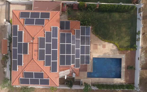 Mikro çatı GES'in kabulü tamamlandı