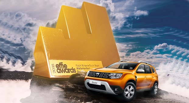Dacia Altın Effie ödülünün sahibi oldu