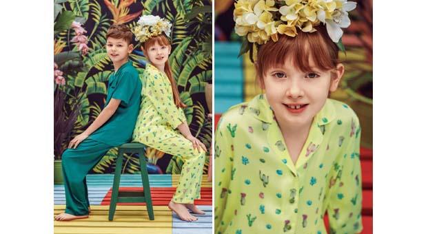Dagi ev giyim koleksiyonuyla çocuklara enerji geliyor