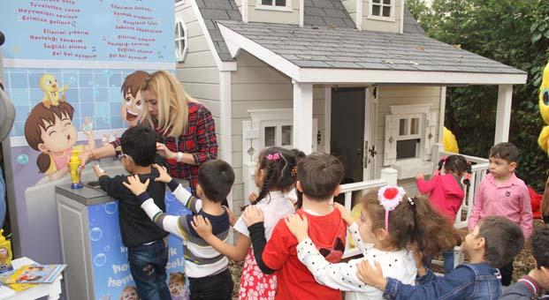 Dalin ve AÇEV işbirliği ile çocuklar eğlenerek doğru el yıkama alışkanlığı kazanacak