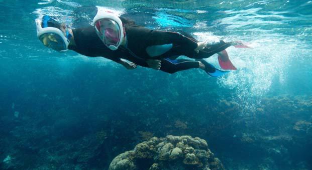 Dalış ve su sporlarıyla ilgili pek çok ürün Decathlon'da