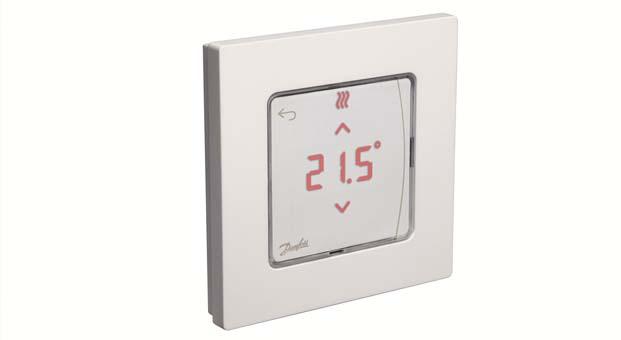 Danfoss'tan modüler döşemeden ısıtma kontrollerine yeni çözüm; Icon serisi