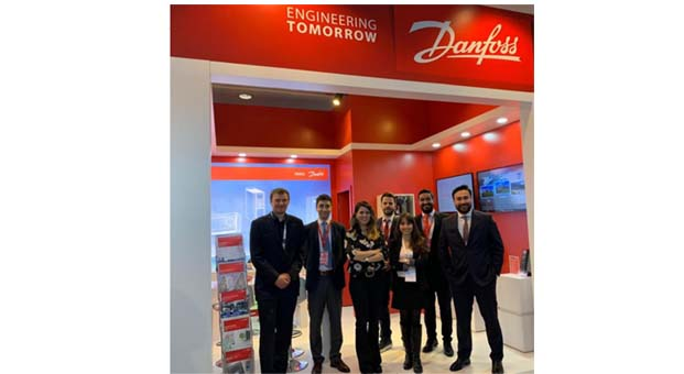 Danfoss 10. Enerji Verimliliği Forumu ve Fuarı'nda göz doldurdu