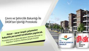 Çevre ve Şehircilik Bakanlığı İle DASK'tan işbirliği protokolü