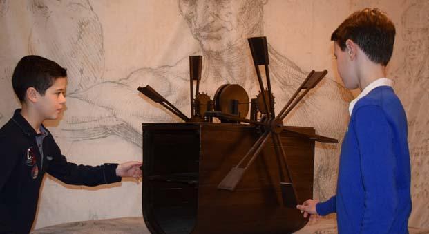 Çocuklar UNIQ Müze'de Da Vinci'yi keşfedecek