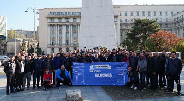 DemirDöküm yetkili satıcıları ile Romanya'nın başkenti Bükreş'te buluştu