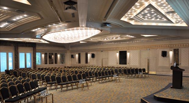 Toplantı ve konferansların adresi: Dedeman İstanbul