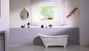 Dekorawall ile mutfak ve banyolarda doğal güzellik