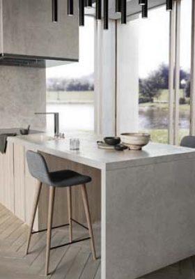 Mutfaklara sade bir estetik: Dekton Kreta