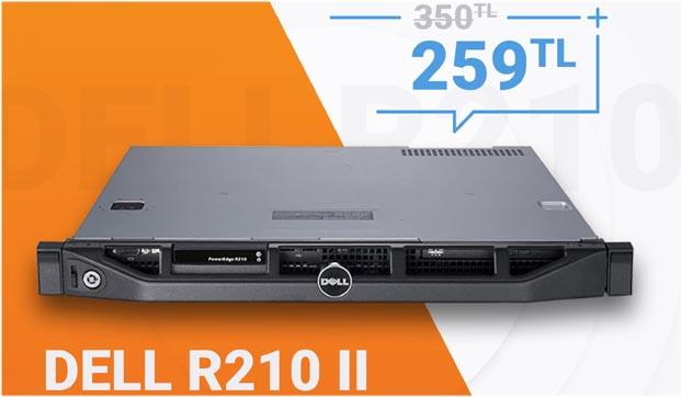 Radore'den yüksek performans sunan Dell R210 II fırsatı