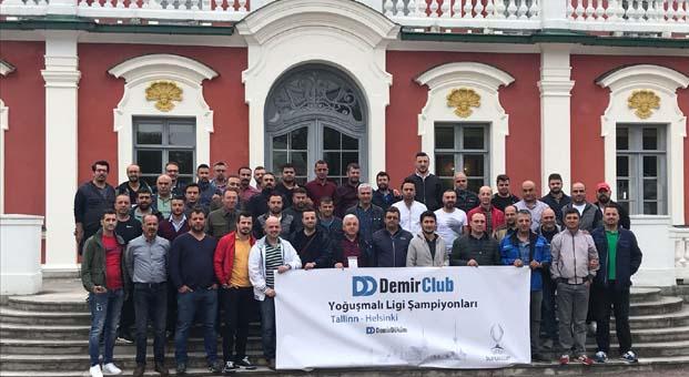 DemirClub'lılar, UEFA Süper Kupa final heyecanını Tallinn'de yaşadı
