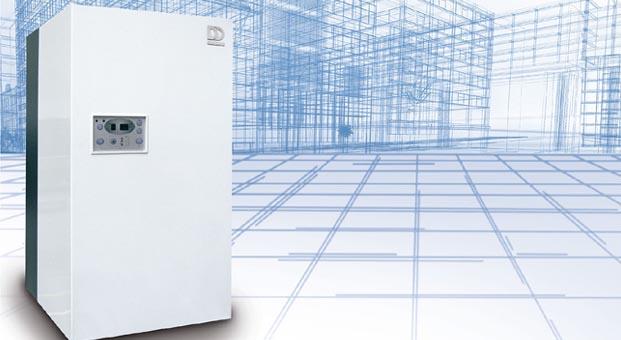 Merkezi ısıtmada maksimum verim için MaxiCondense yoğuşmalı kazan