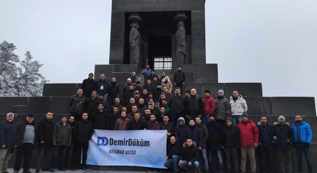 DemirDöküm, satış ağını Belgrad'da ağırladı