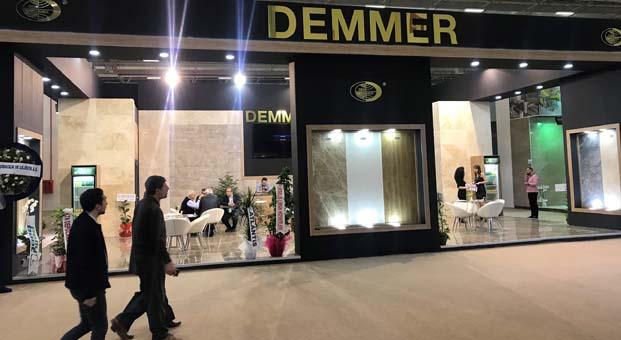 Demmer Mermer yeni nesil ürünleriyle Marble İzmir Fuarı'nda yerini aldı