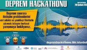 TBV ve İBB'den Deprem Hackathonu