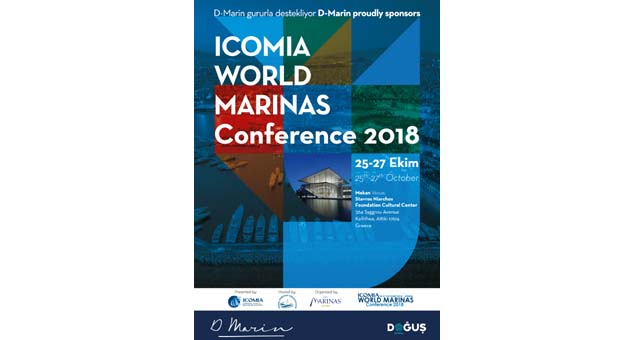 D-Marin, ICOMIA Dünya Marinalar Konferansı'nın ana sponsorlarından oldu