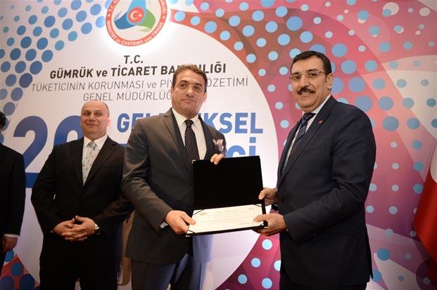 Doğtaş'a Gümrük ve Ticaret Bakanlığı'ndan ödül