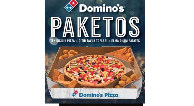 üçü Bir Arada Paketosla Hem Pizza Hem Patates Hem De çıtır Tavuk