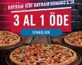Domino's Pizza bayram gibi bayram yaşatıyor