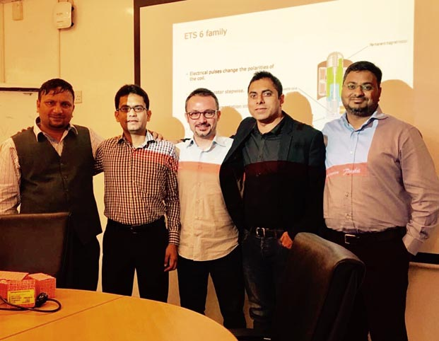 Danfoss'tan elektronik kontrol çözümleri eğitimi