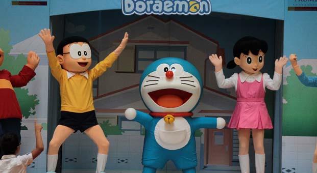 Doraemon ve arkadaşları muhteşem sahne şovları ile 23-24 Eylül Trump AVM'de
