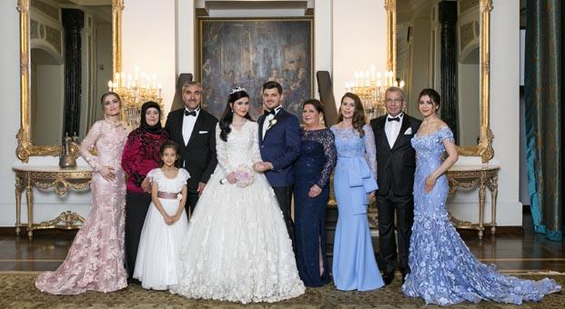 Vedat Aşçı'nın kızı Susanne Aşçı ve Sefa Derebey evlendi