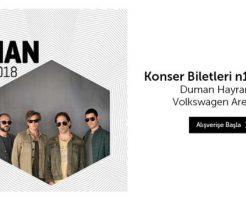 Duman konseri 2 Aralık'ta İstanbul'da,biletler n11'de satışta