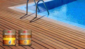 Massiveline 'Su' ve 'Yağ' Bazlı Deck Verniği ile ahşaba maksimum koruma