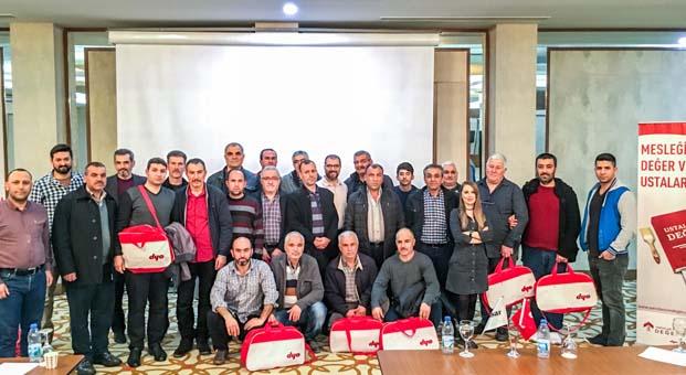 DYO, 'Ustalığa Değer' projesi için Mersin'den sonra Adana'daydı