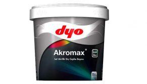DYO'nun ipek mat dış cephe boyası Akromax'tan zorlu iklim koşullarına karşı tam koruma