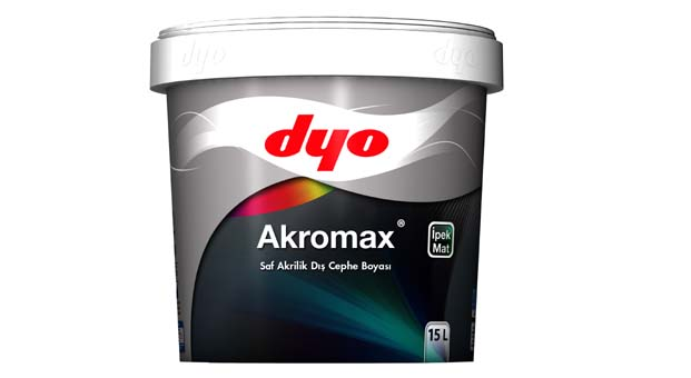 DYO Akromax ile kirlenme direnci yüksek solmayan dış cepheler