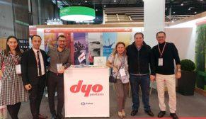 Dyo BATIMAT Fuarı'nda inovatif ürünlerini tanıttı