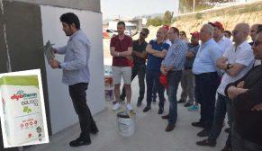 DYO bayilerine Kuzey Kıbrıs'ta DYOTHERM ISOLTECO 110'u tanıttı
