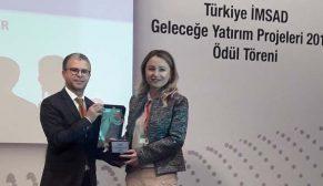 Dyo'nun 'Yarınlar İçin Değer' Projesi'ne Türkiye İMSAD Geleceğe Yatırım Ödülü