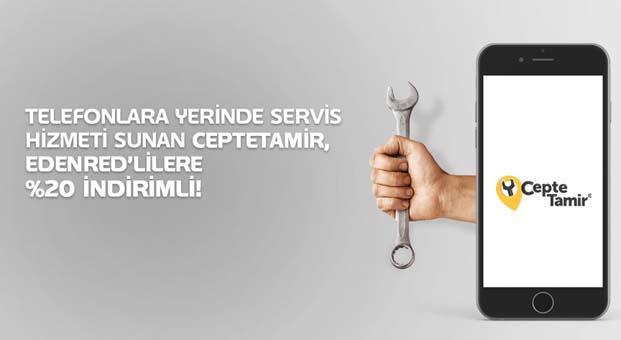 Telefonlara yerinde tamir hizmeti Edenred'lilere yüzde 20 indirimli