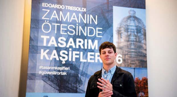 Çağdaş sanatın dünya çapındaki en önemli temsilcilerinden Edoardo Tresoldi İstanbul'daydı