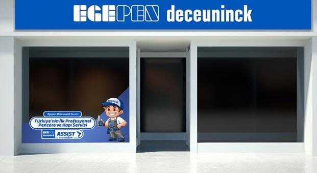 Egepen Deceuninck'ten PVC, pencere ve kapı için Assist hizmeti