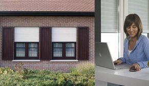 Egepen Deceuninck'in Storbox Panjurları güvenlik ve enerji tasarrufu sunuyor
