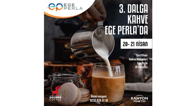 Ege Perla'dan kahve severlere sertifikalı kahve atölyeleri