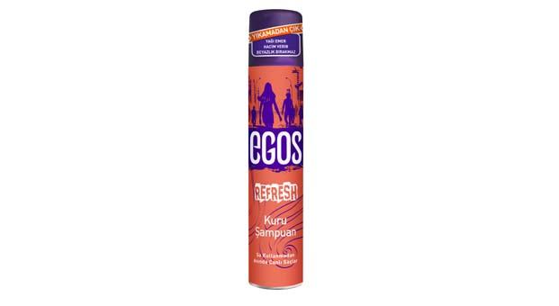 Egos Refresh ile saçlar hacimli ve tertemiz