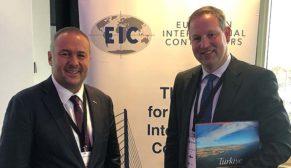 Türk yapı sektörü Avrupalı müteahhitler ile buluştu