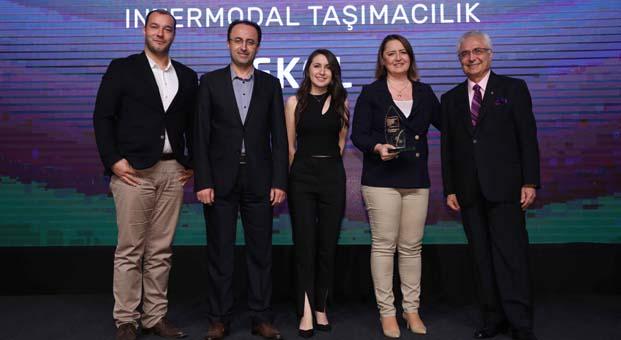 Ekol'ün intermodal taşımacılık modeli Sürdürülebilirlik Ödülü aldı