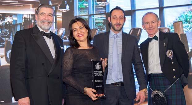 """BJK No1903"" International Property Awards'tan 3 ödülle döndü"