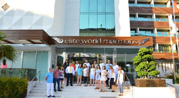 Elite World Hotels'ten çalışanlarına Marmaris tatili