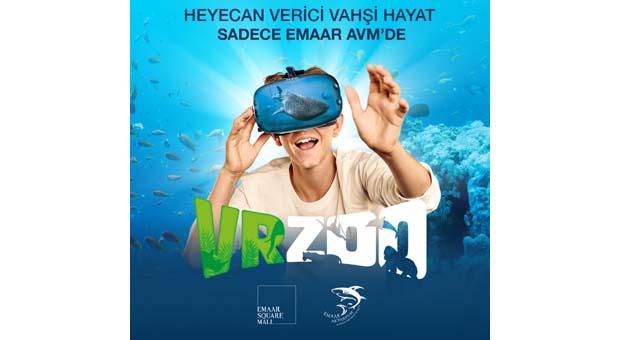 VRZoo ile vahşi yaşamın sırları Türkiye'de ilk kez Emaar AVM'de