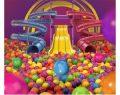 Türkiye'nin rengarenk dev top havuzu Emaar Mall'da çocukları bekliyor