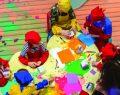 Emaar Square Mall'da çocuk sanat atölyesi